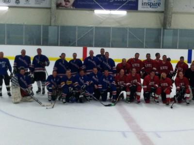 Kenmore Vs. Ellwood Hockey Game