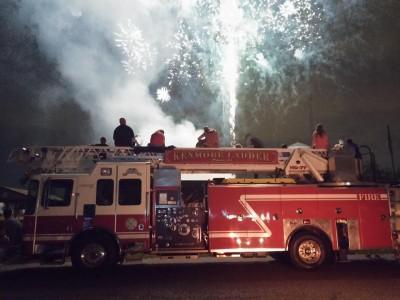 Fireworks - Ladder Truck 2